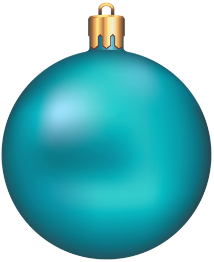 Christmas ball ornament png. Transparent blue clipart gallery