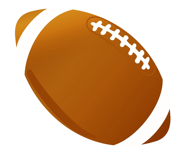 Sports clipart. Different kinds of footballballclipartcolor