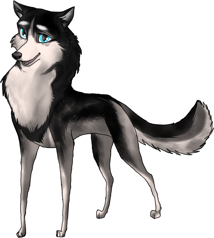 balto drawing realistic