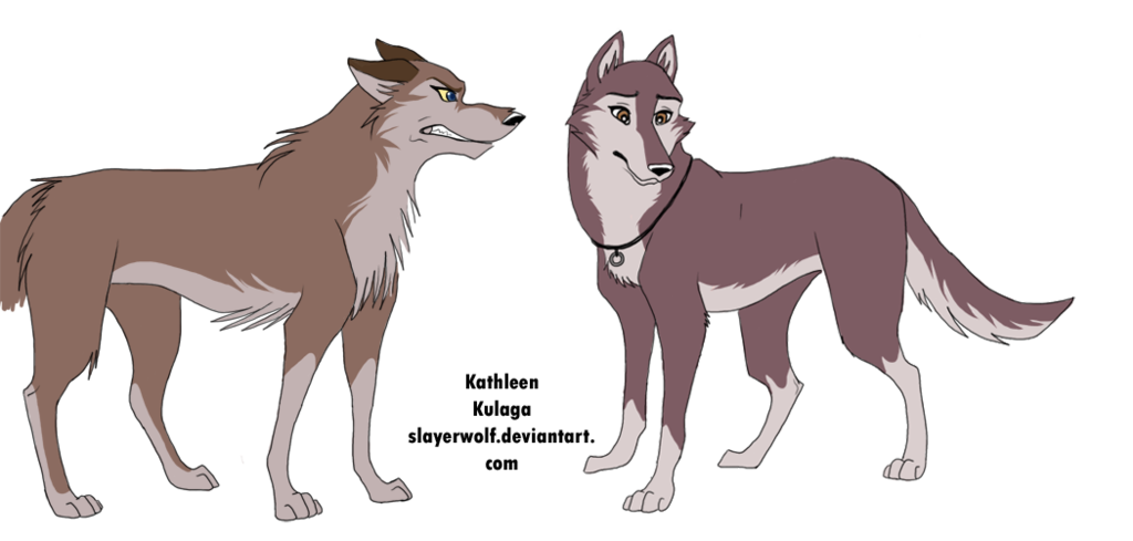 Balto drawing aleu. Vs dusty by slayerwolf