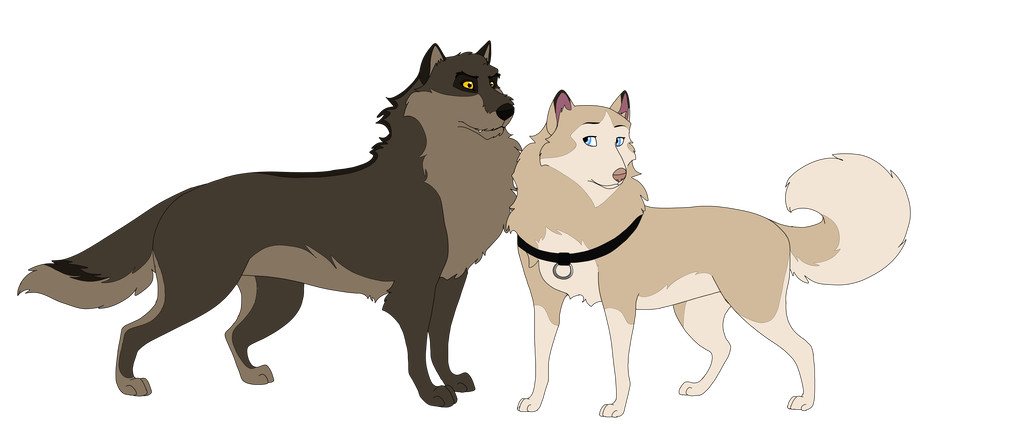 Balto drawing father. S parents by dragonwithashotgun