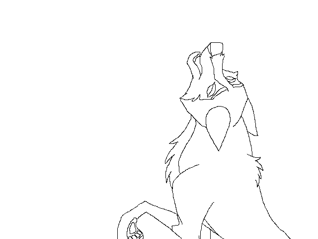 Balto drawing pencil. Howling aleu base lineart