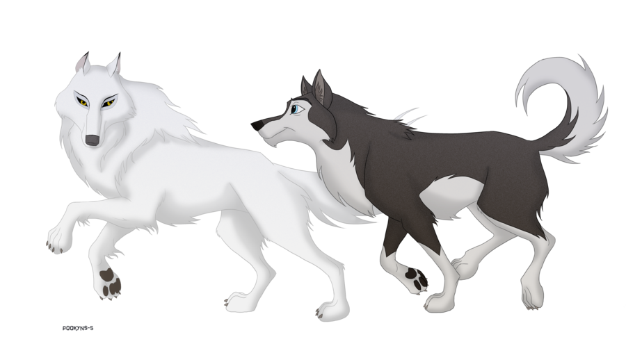 Balto drawing rosy. Happy anniversary collab with
