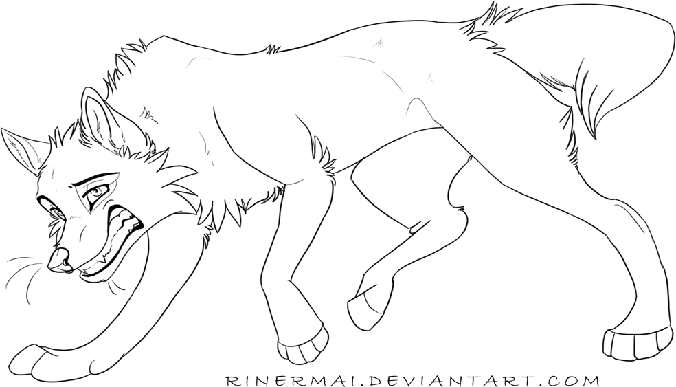 balto drawing wolf