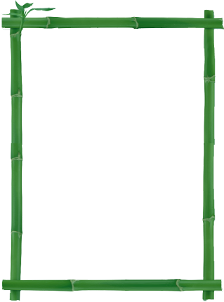 Bamboo border png. Clip art graphics orientpng