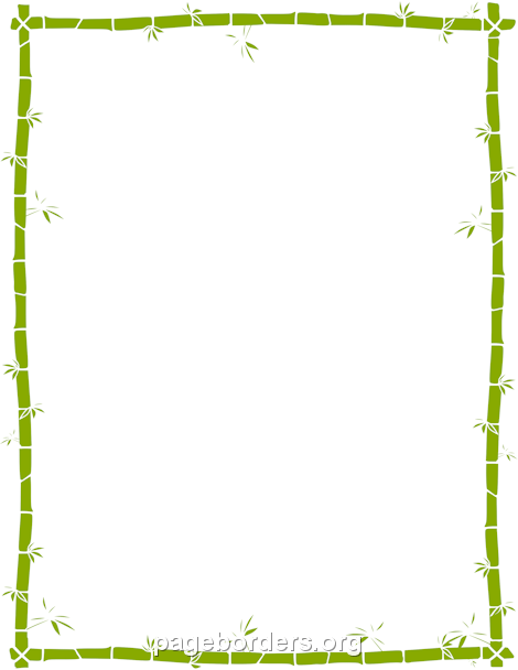 Bamboo clipart nature border design. Season pinterest file format