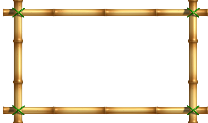 Bamboo frame png. Images of border spacehero