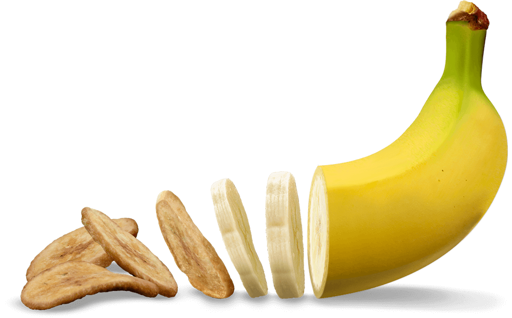 dried bananas png