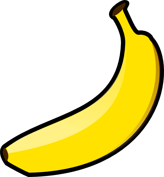 Banana clip art png. At clker com vector