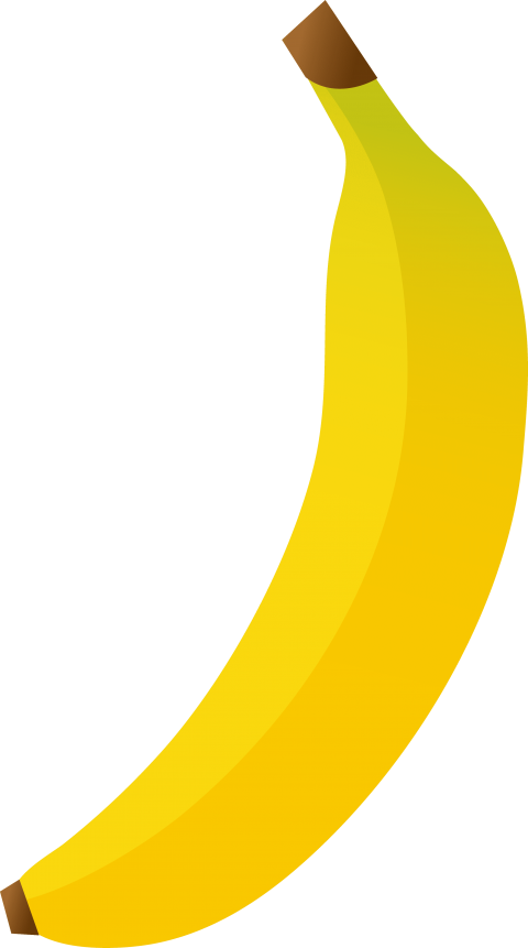 Banana clipart png. Free images toppng transparent