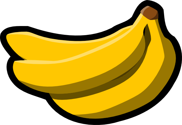 Banana clipart toon. Free cartoon picture download