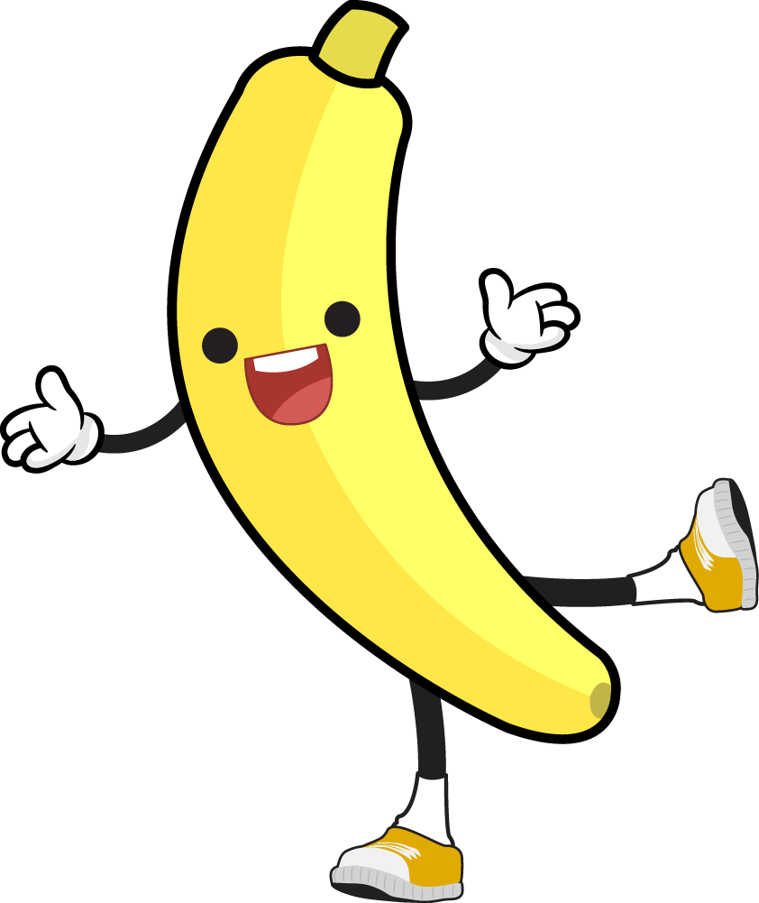 Banana clipart toon. Pictures cartoon free download