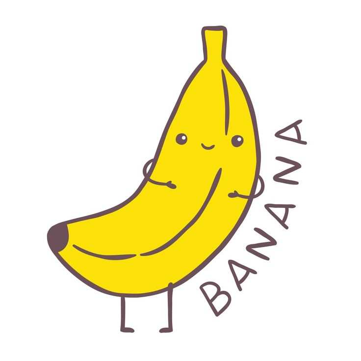 Banana clipart toon. Best bananas images