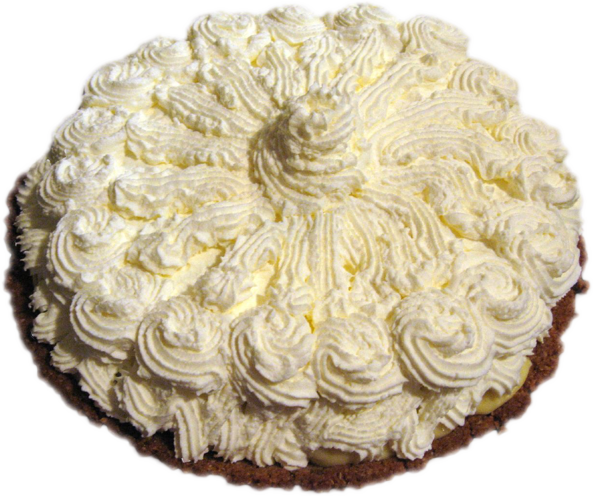 whip cream pie png #89549707