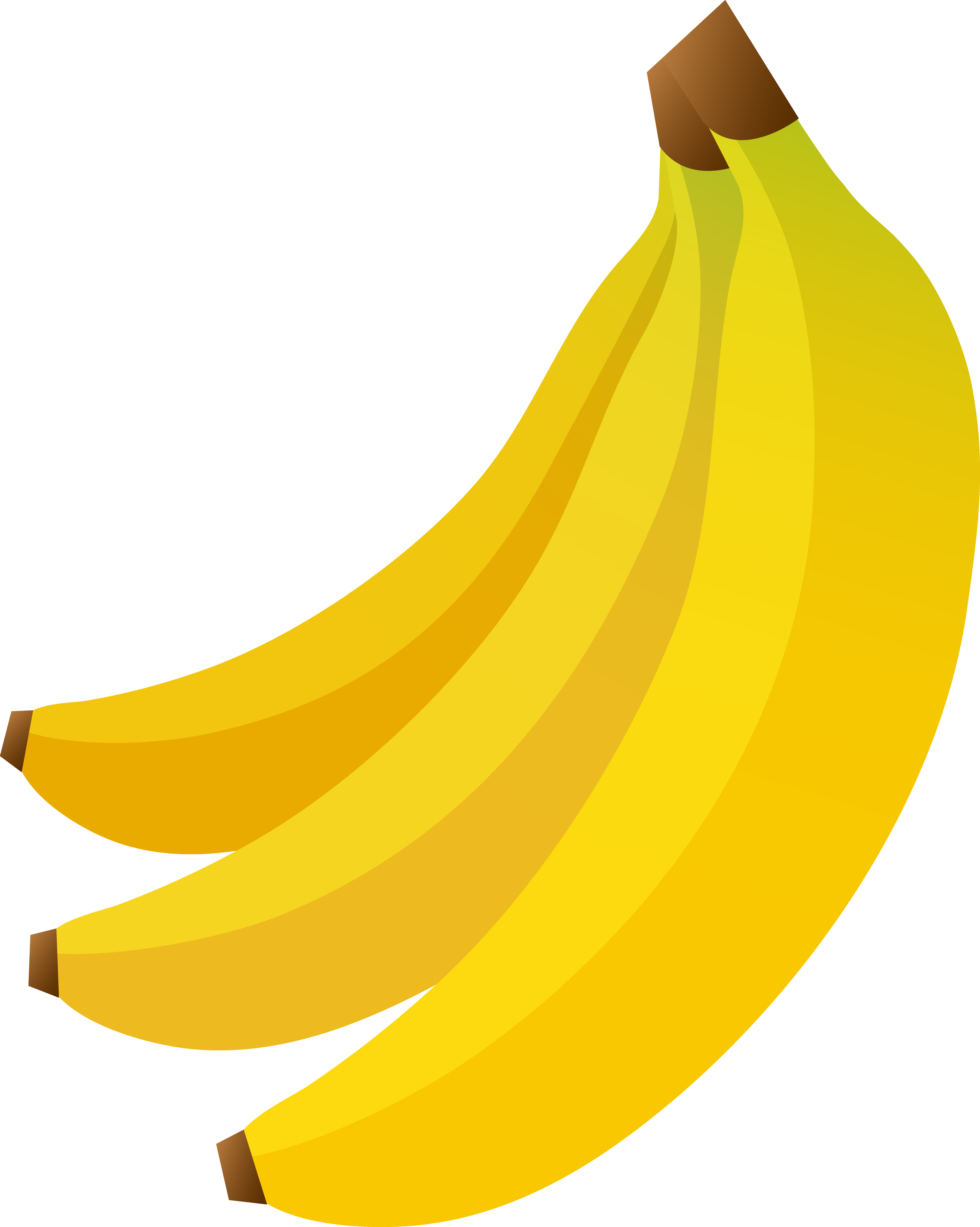 Bunch of three free. Bananas png graphic black and white download