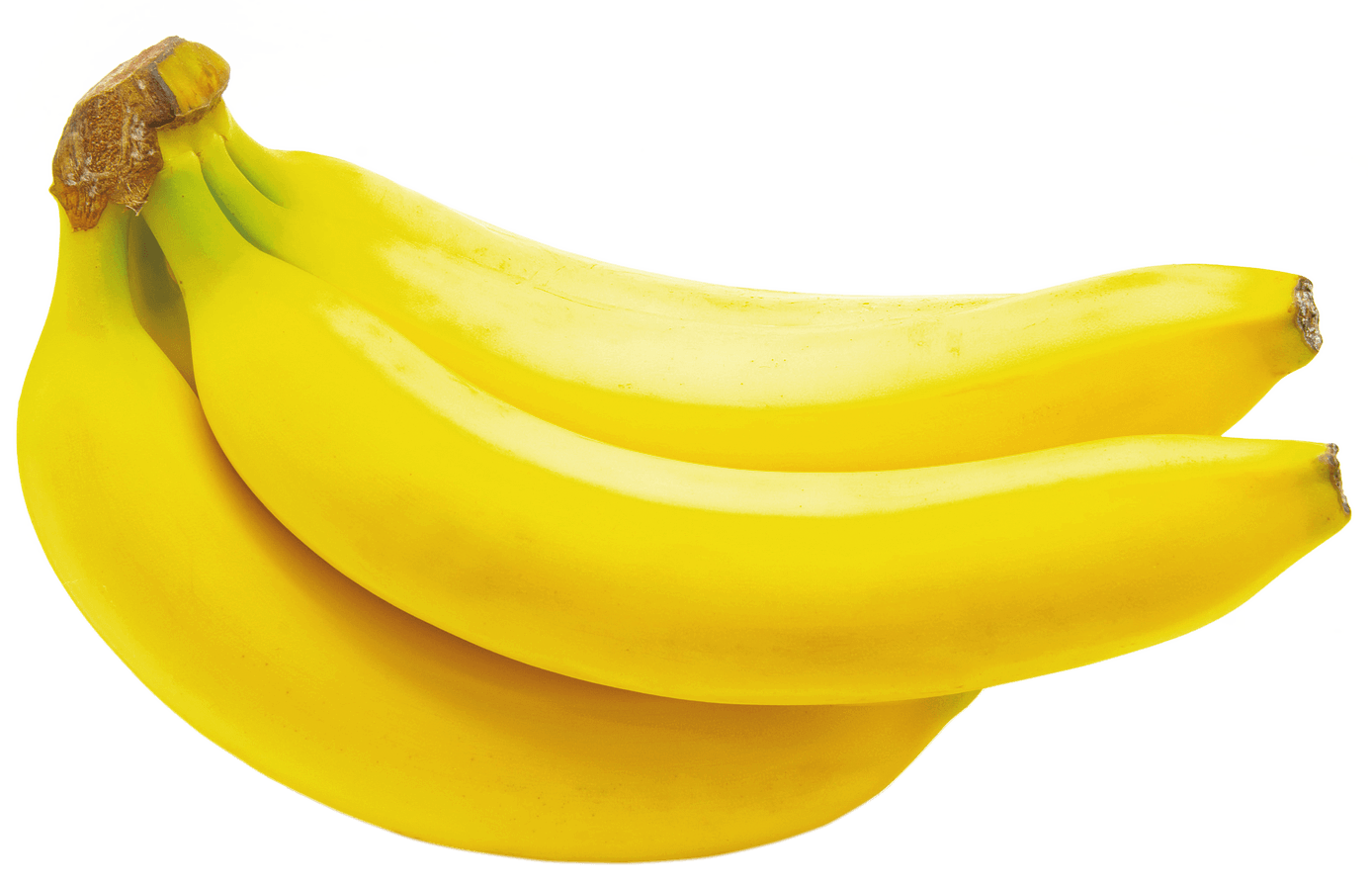 Three transparent stickpng. Bananas png clipart transparent