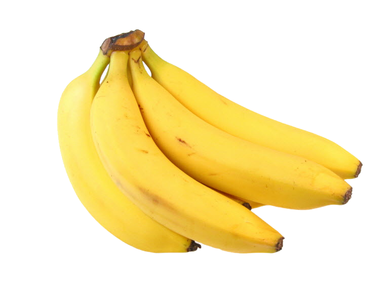 Bananas on png background. Banana transparent images all