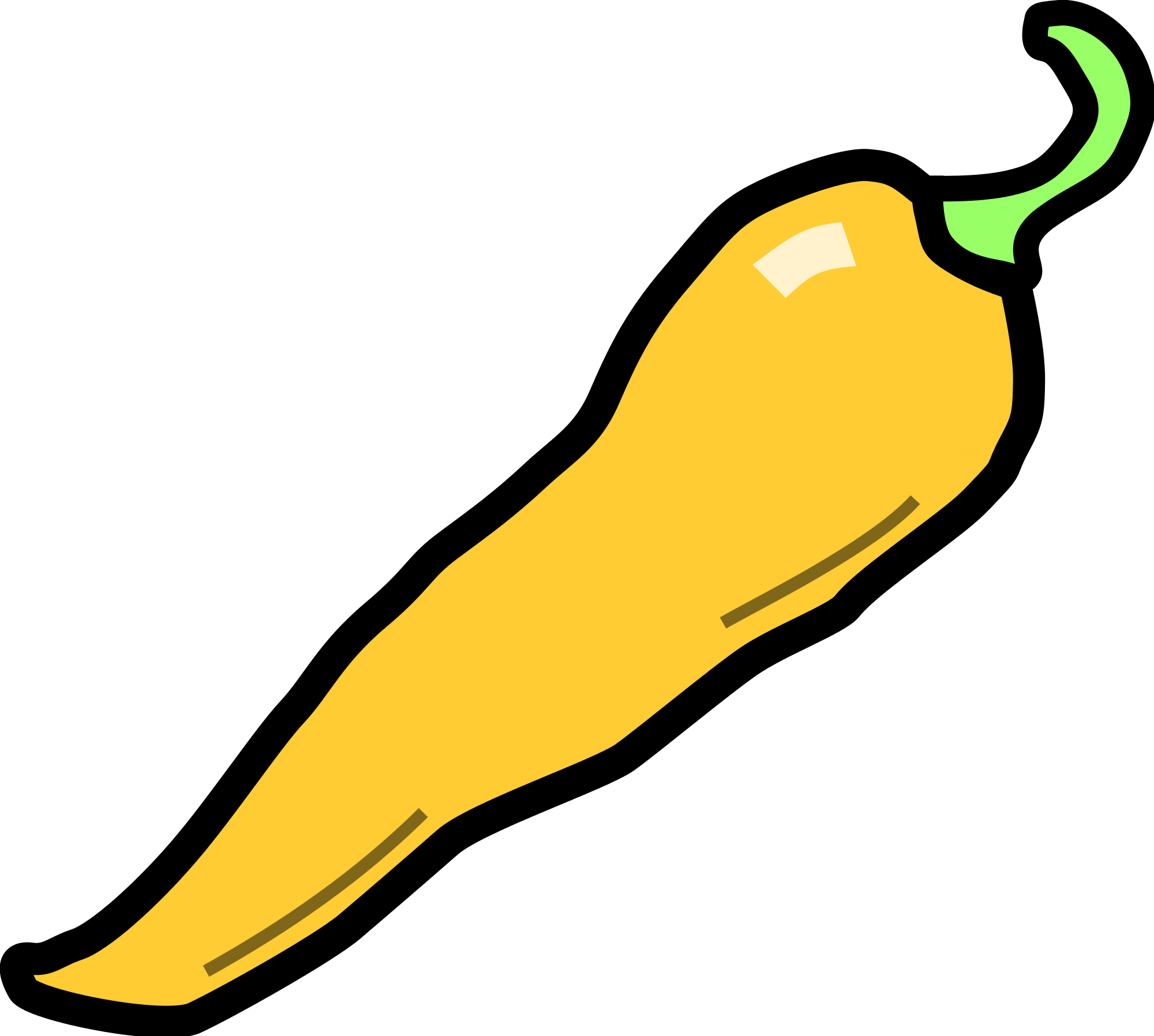 Bananas peppers png. File chilli pepper svg