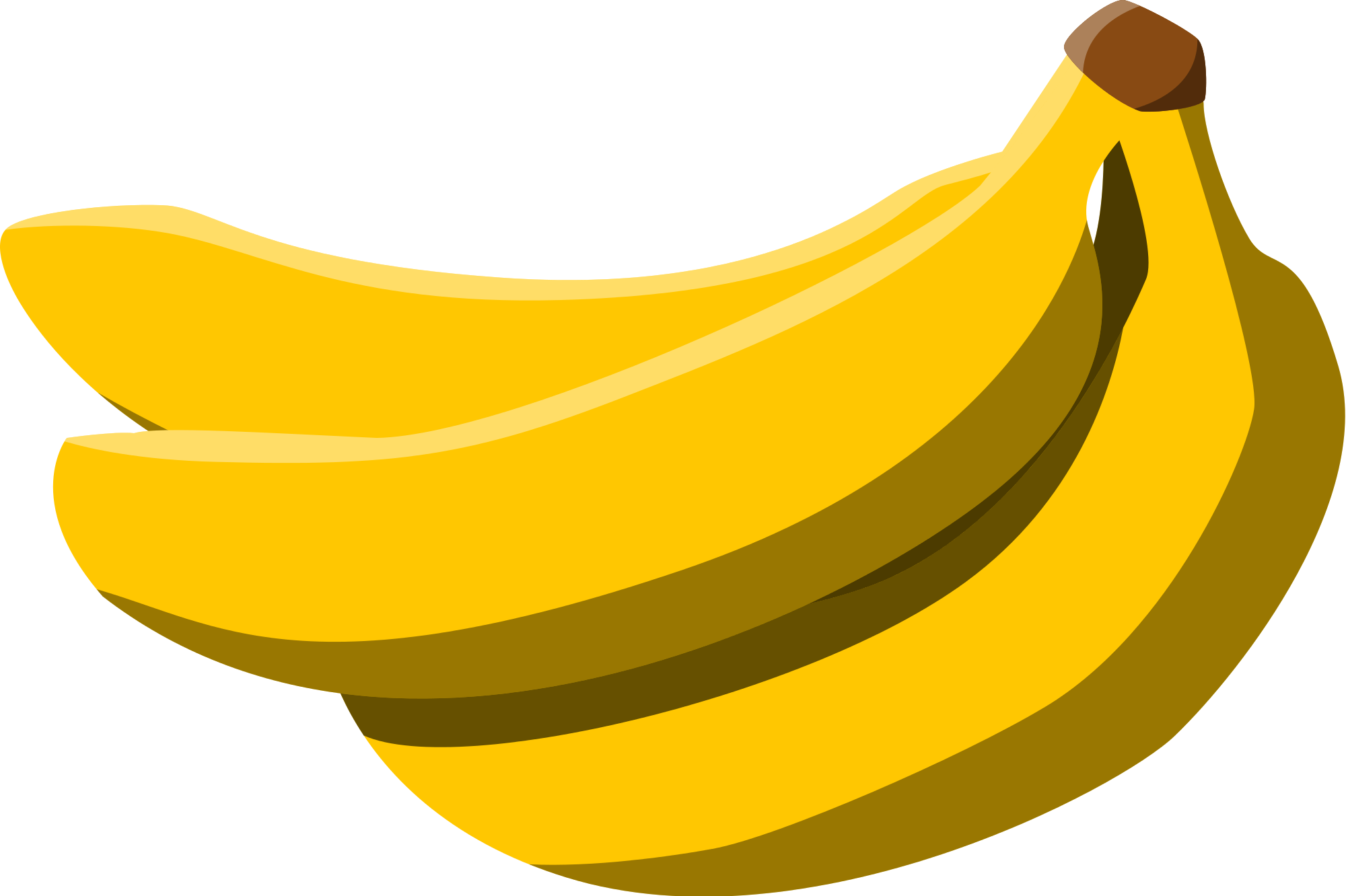 banana svg vector