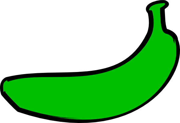 Bananas transparent green. Graphic freeuse stock