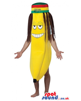 Buy mascots costumes in. Rasta hat with dreads png picture free library