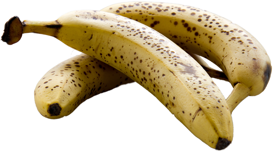 Bananas transparent ripe. Cancer fight preventing and