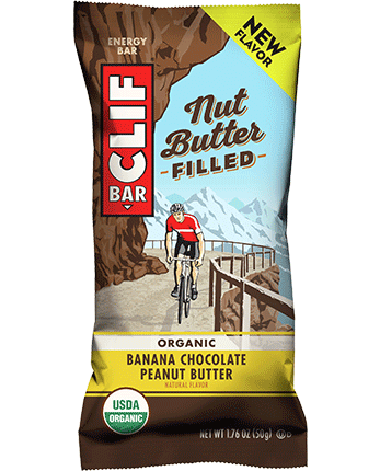 Bananas with peanut butter png. Clif bar nut filled