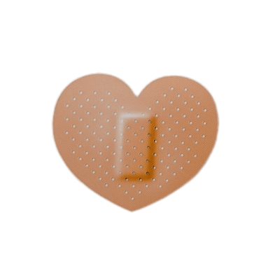 Band aid clipart png. Transparent stickpng heart shaped