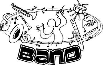 band clipart school band