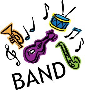 Band clipart 5th grade. Brass class pencil and