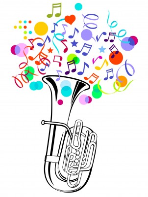 Band clipart dixieland band. Jazz around town the