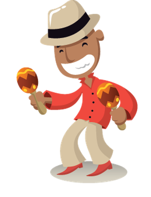Band clipart png. Salsa music the arts