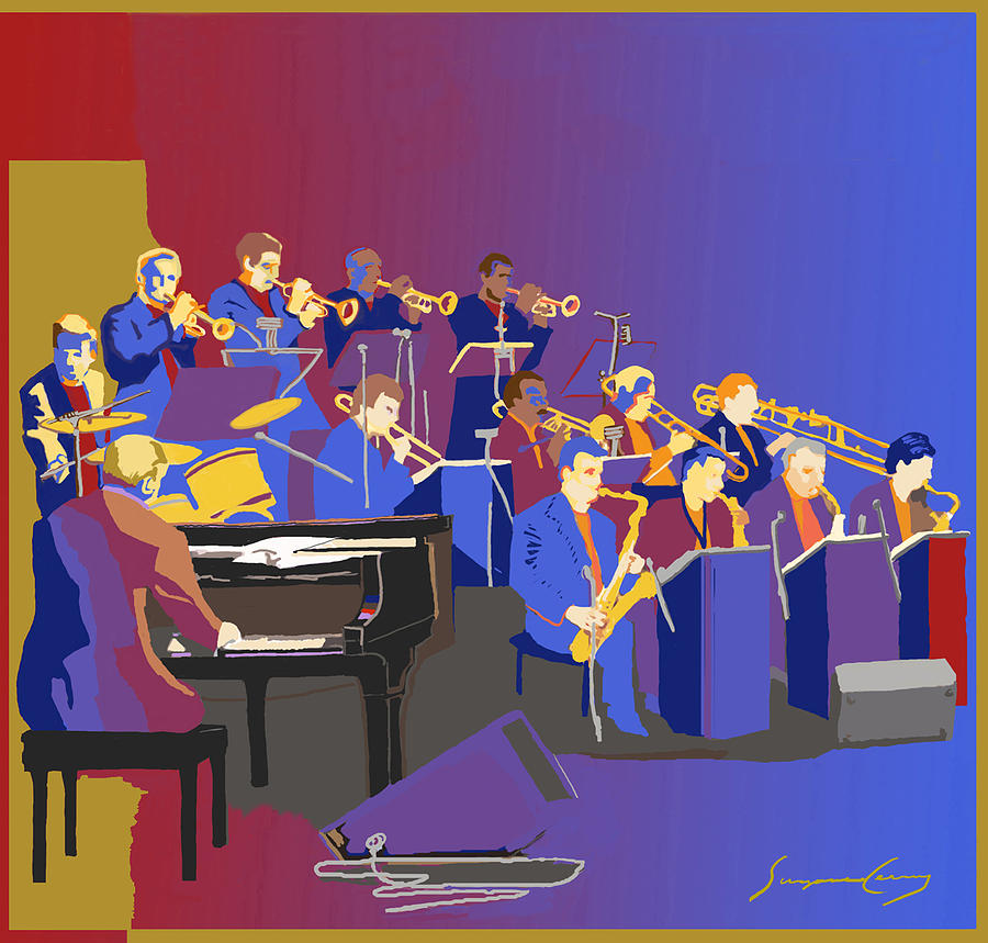 Band clipart symphony. Aso big alliance orchestra