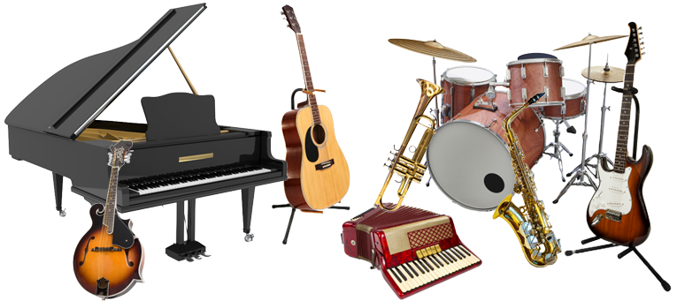 Band instruments png. Learning a musical instrument