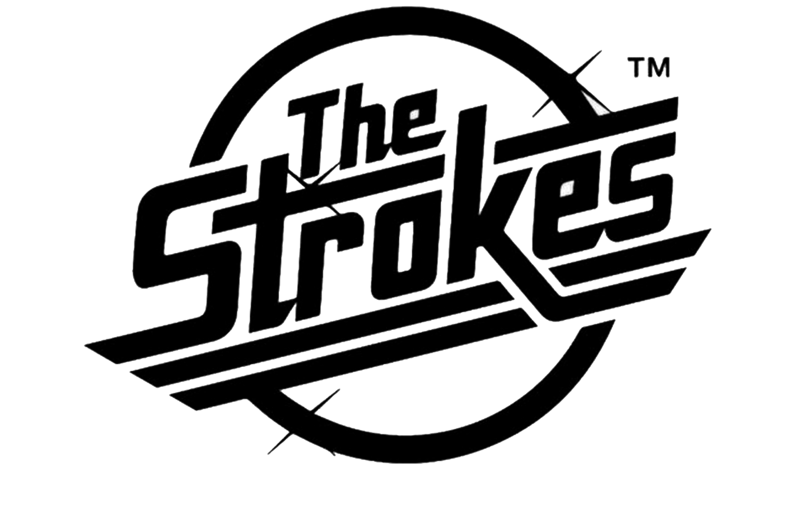 Band logo png. The strokes marlon w