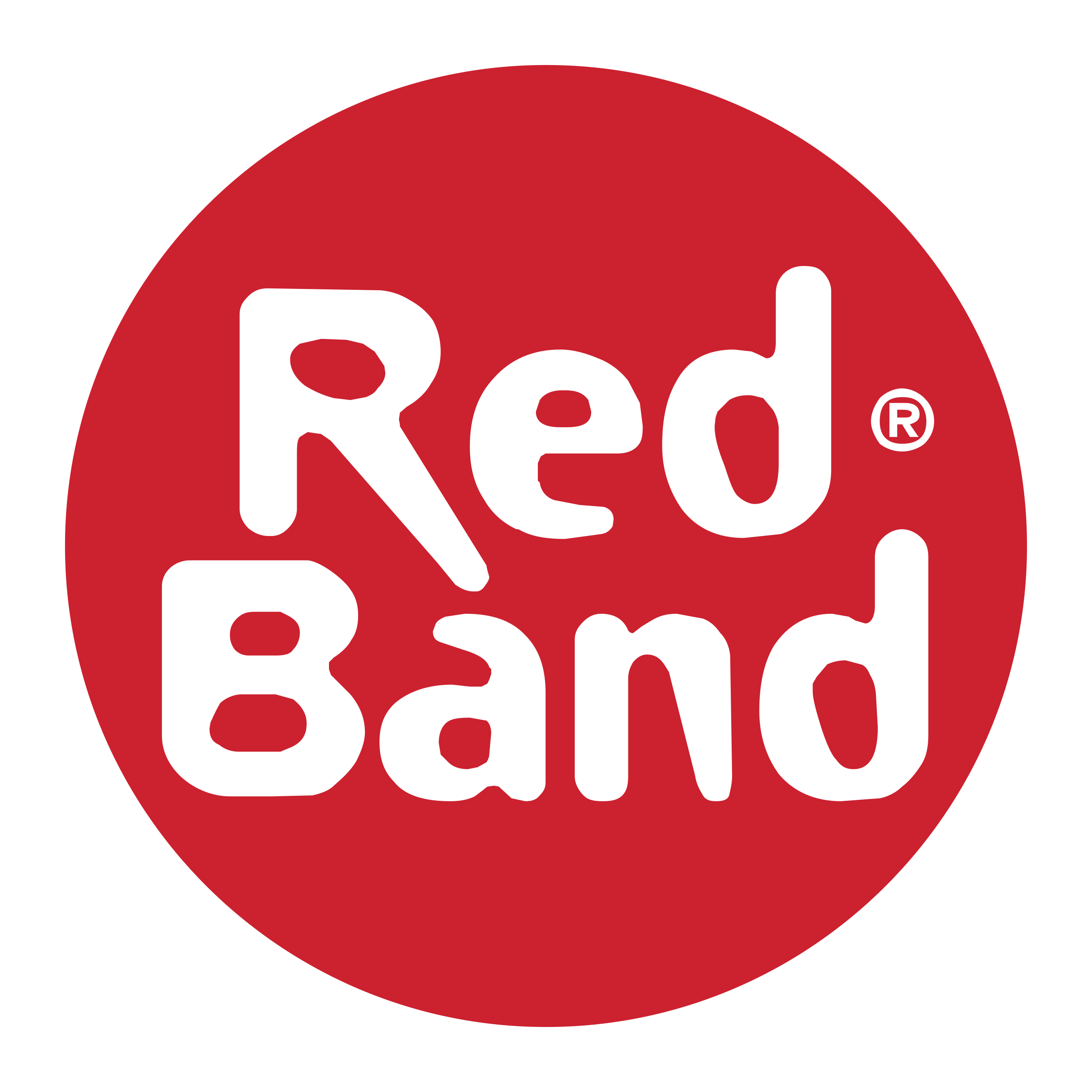 Band logo png. Red transparent svg vector