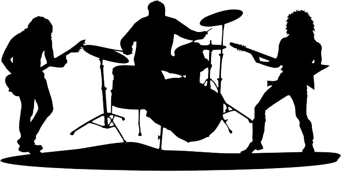 band silhouette png
