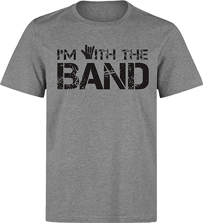 Band tee png. I m with the