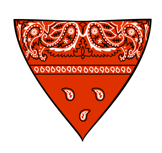 headband drawing bandana
