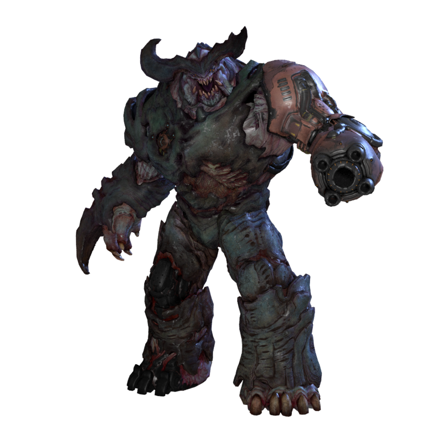 Bane transparent 2 wallpaper. Cyberdemon by telemuscnt on