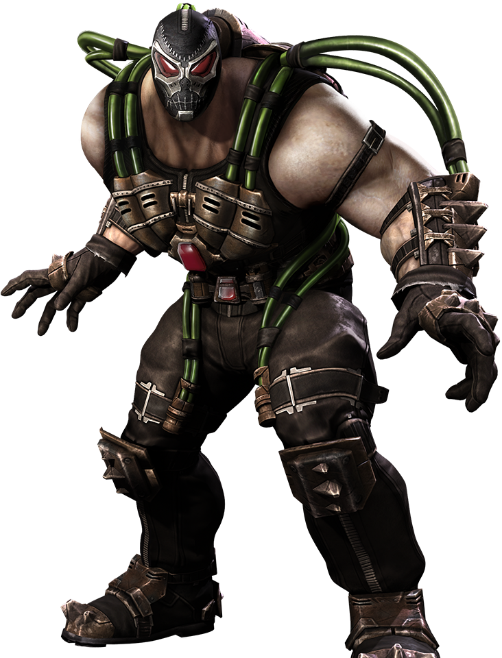 bane transparent character dc