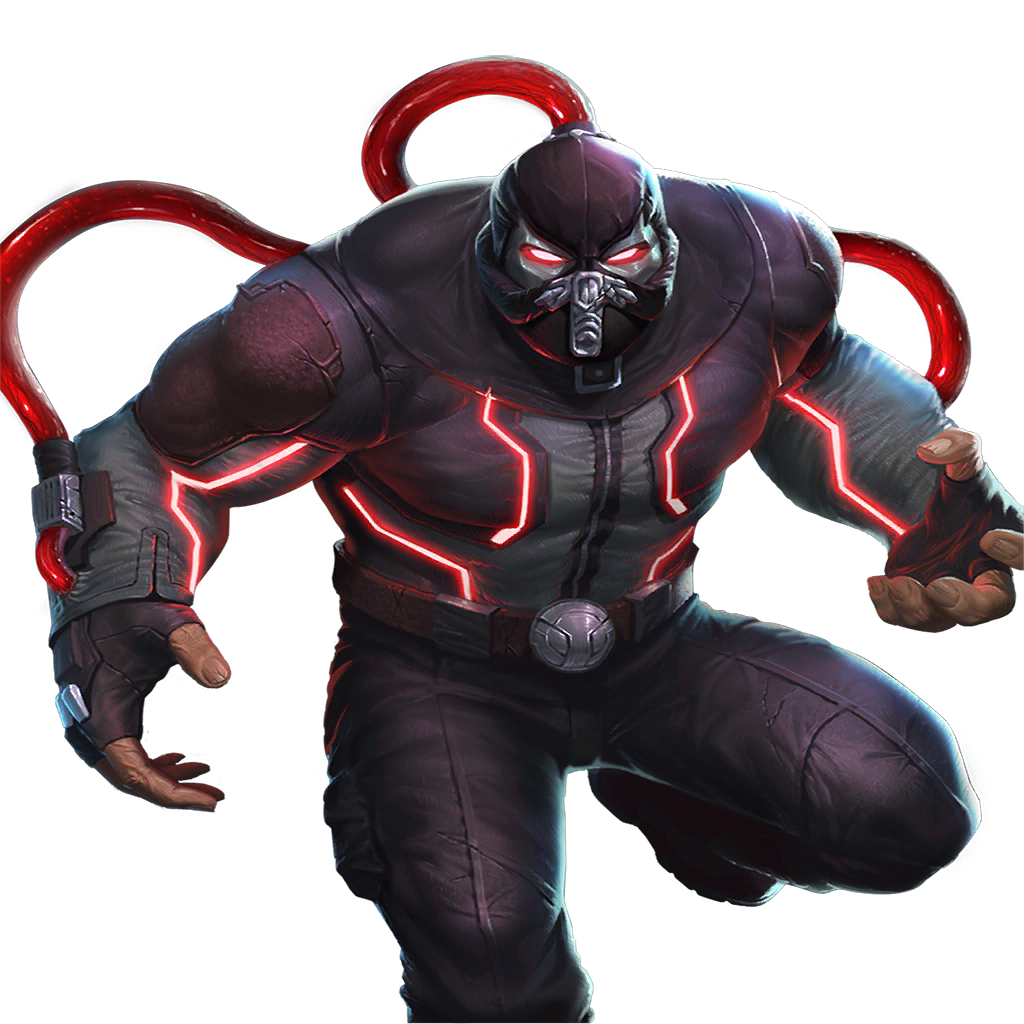 Bane transparent injustice 2. Gods among us character