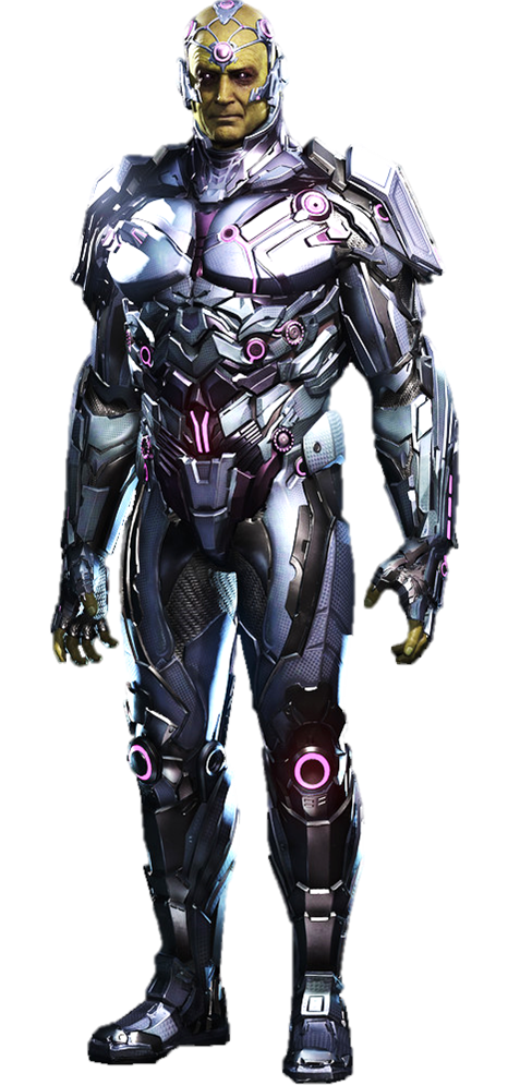 Bane transparent new 52 injustice. Brainiac full body by