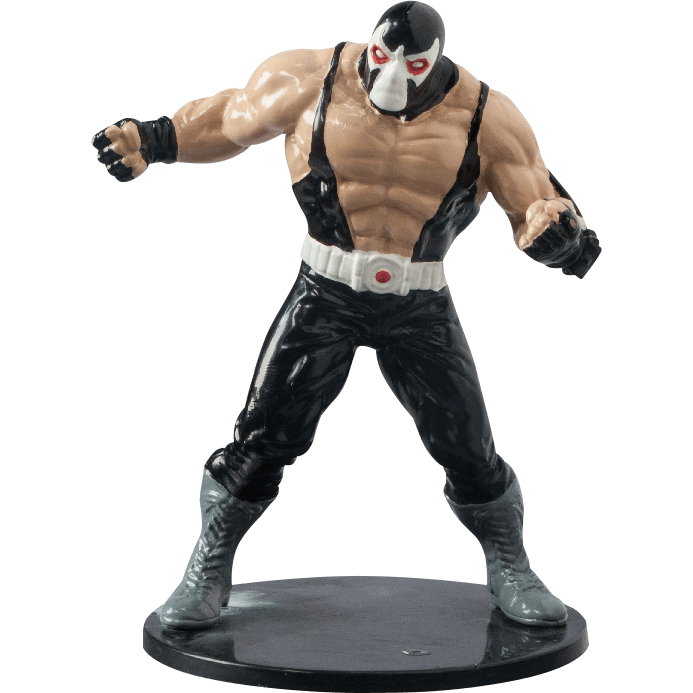 Bane transparent supe villain. Dc statue mg from