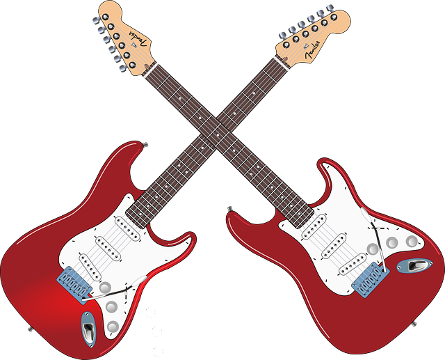 Woman clipart guitar. Free image on pixabay