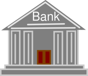 Icon clip art at. Bank clipart graphic transparent library