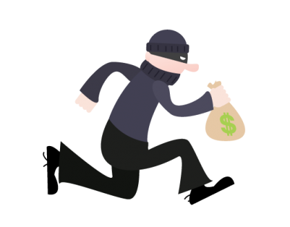 Robber clipart girl robber. Three asians robbed in