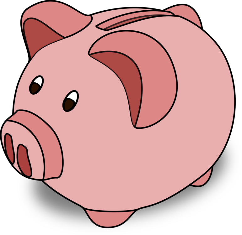 Bank clip savings. Piggy computer icons free