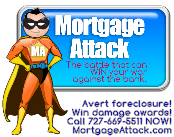 Bank clip securitization. Mortgage attack the only