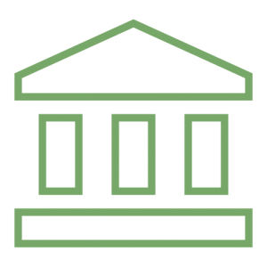 Money and banking essential. Bank clipart federal reserve bank clip black and white stock